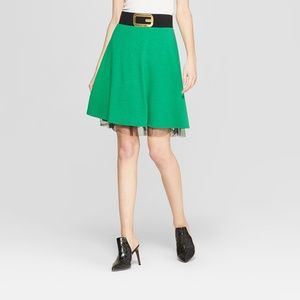 Christmas Elf Skirt Ugly Sweater Party